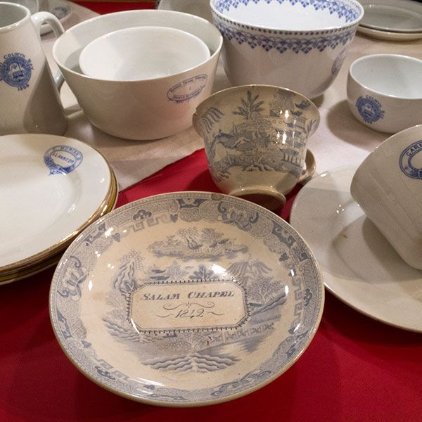 Cefyn Burgess crockery