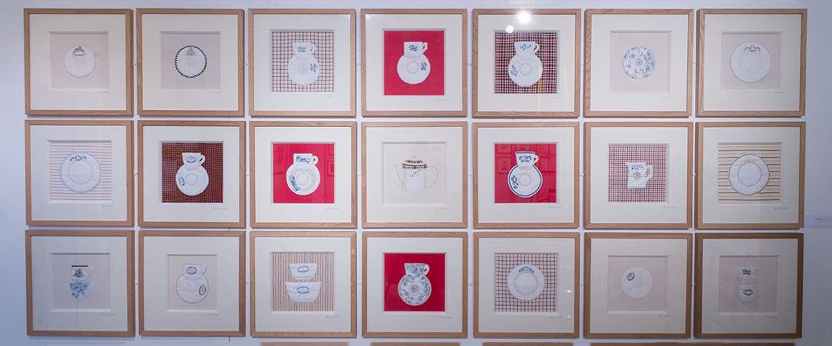 Welsh quilt party cefyn crockery