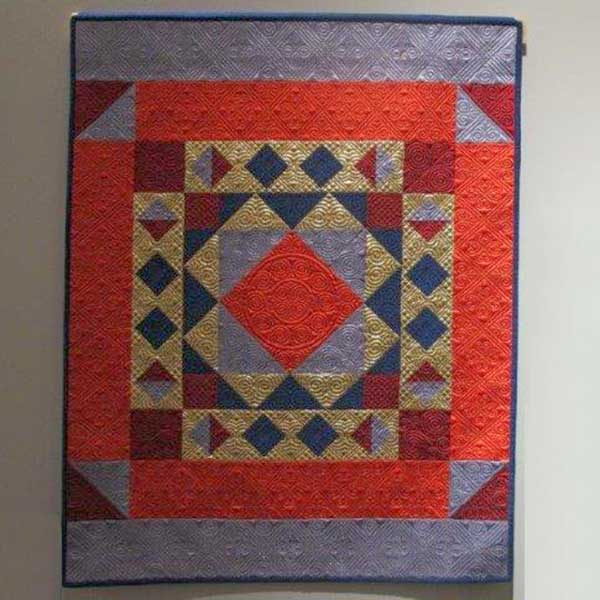 'Welsh Treasure' Quilt by Helen Burnham